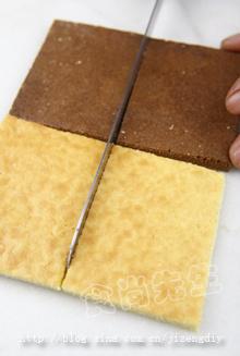 巧克力花纹小蛋糕——圣诞惊喜,从现在开始准备!
