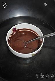 圣诞巧克力草莓棒棒糖的做法 步骤3